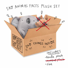 Load image into Gallery viewer, Sad Plush Koala (does not contain numbat)