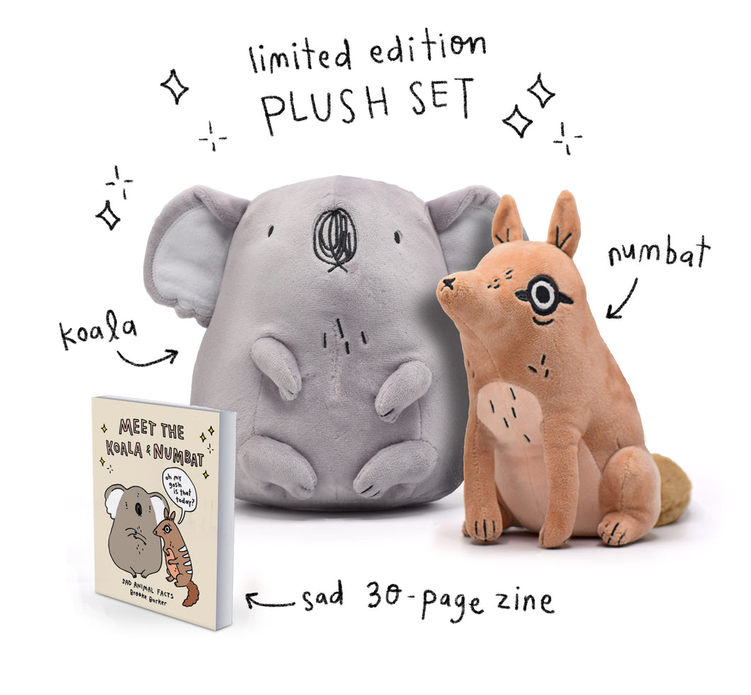 Sad Plush Set
