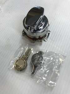 Chrome Electronic Fat Bob Ignition Switch Early Style Tank Mounted Harley 73-95