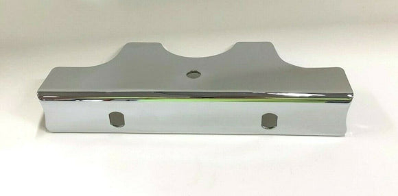 Chrome Lower Triple Clamp Cover For Harley FXD Dyna 80-86 FXST Softail 84-85