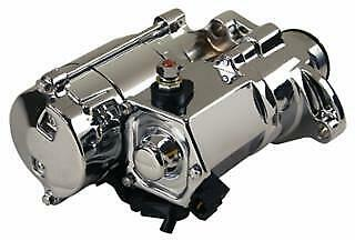Chrome Heavy Duty 1.75kw  Starter for Harley Big Twin 07/L & Dyna 06/L