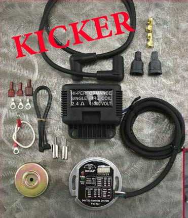 ULTIMA PROGRAMMABLE KICKER ELECTRONIC IGNITION KIT EVO SHOVELHEAD XL SPORTSTER