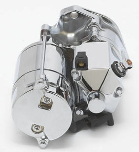 Ultima 1.75kw Chrome Top Post Heavy Duty Starter for Harley Big Twin 89-06
