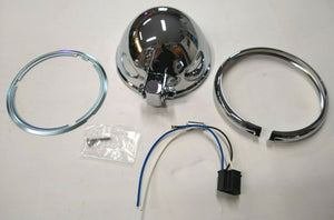 "Chrome 5-3/4"" Headlight Shell Kit"