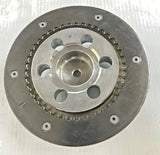 "Polished Pressure Plate For Ultima 2"" Bagger & Old School Belt Drives"