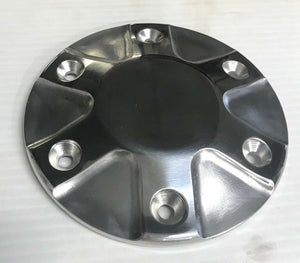 "Polished Motor Pulley Cap For Ultima 2"" Bagger & Old School Primary Belt Drives"