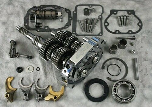 ULTIMA 6 SPEED TRANSMISSION CONVERSION BUILDERS KIT FOR HARLEY BIG TWIN 90-06