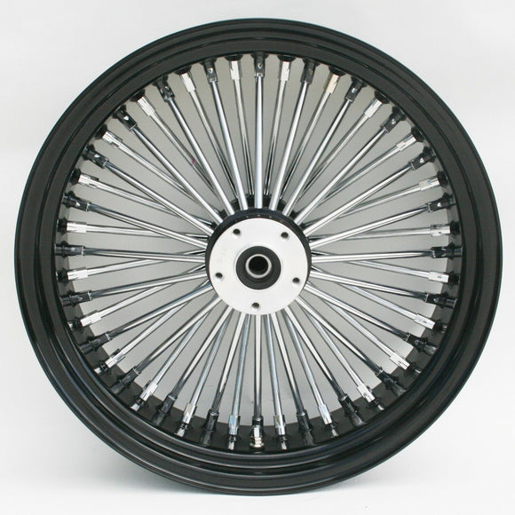 Black & Chrome Ultima 48 King Spoke 16