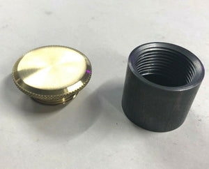 Brass Filler Cap With Bung For Oil or Gas Tank