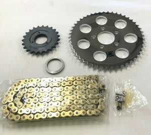 Chain Drive Sprocket Conversion Kit For 5 Speed Harley Sportster W/ 130/150 Tire