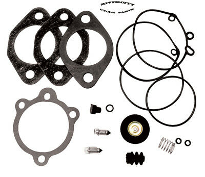 Carb Rebuild Kit For Early Keihin Carb Big Twin 76-89 Sportster XL 76-87