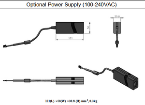 dimensions of power supply