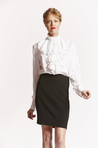 ELIZABETH Tall Womens Shirt in White