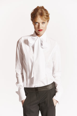 GRACE Tall Womens Shirt in White