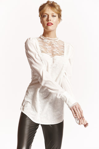 SOPHIA Tall Womens Shirt in Ivory