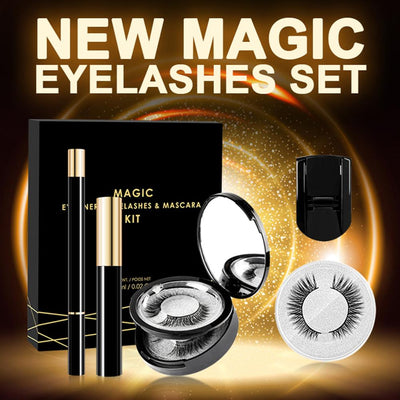 3 pairs eyelashes set for Magic Eyelash Extension