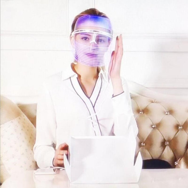 Use LED light therapy masks and fade wrinkles, reduce acne, speed up collagen, and more