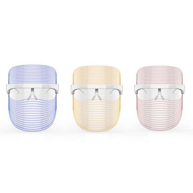 fade wrinkles, reduce acne, speed up collagen, and more with led light mask