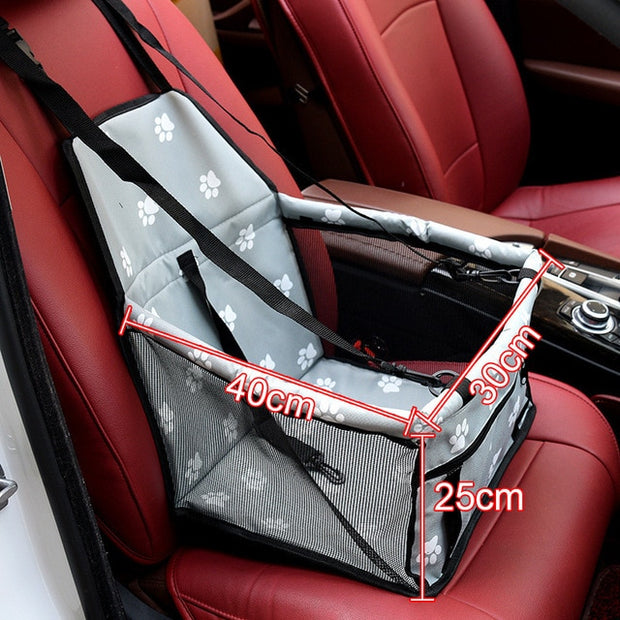 Folding Pets Dogs Cats Car Seat Safe Carrier
