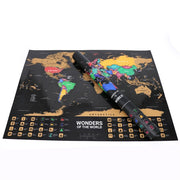 scratch off world map amazon
