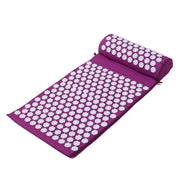 acupressure mat and pillow Purple Color