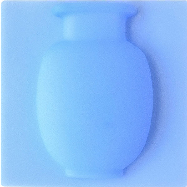 Magic Silicone Wall sticky Vase Blue