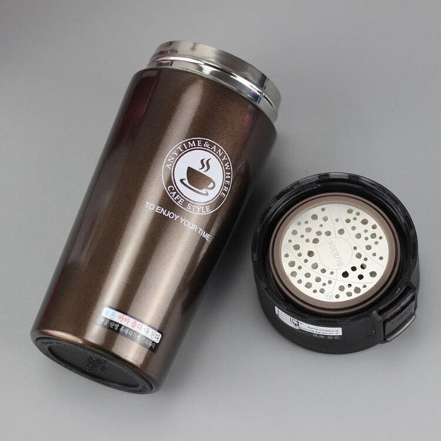 HOT Premium Travel Coffee Mug Stainless Steel