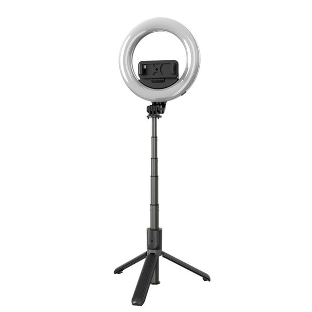 Buy Wireless Bluetooth Selfie Stick & LED Ring Light Kit with Stand