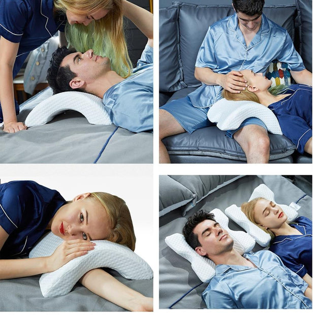 Couple cuddle pillow