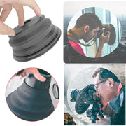 Anti-reflective Glass Lens Hood Cover