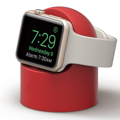 silicone charger stand mount for apple watches