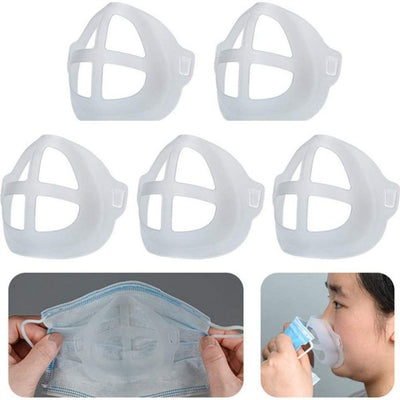 silicone face mask frame