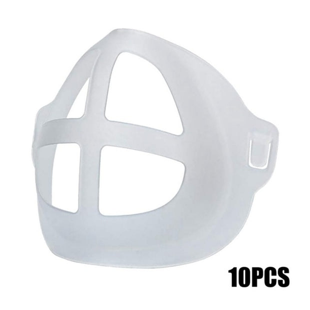 10 PCS buy  Silicone Face Mask Support Frame
