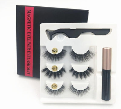 Magnetic Eyelashes & Eyeliner Set