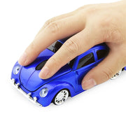 2.4 GHZ Blue Wireless Car Gaming Mouse