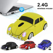 2.4 GHZ Volkswagen Beetle Wireless Car Gaming Mouse
