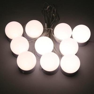 LED makeup mirror lights