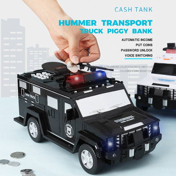 Coin Keeper Truck Piggy Bank for Child