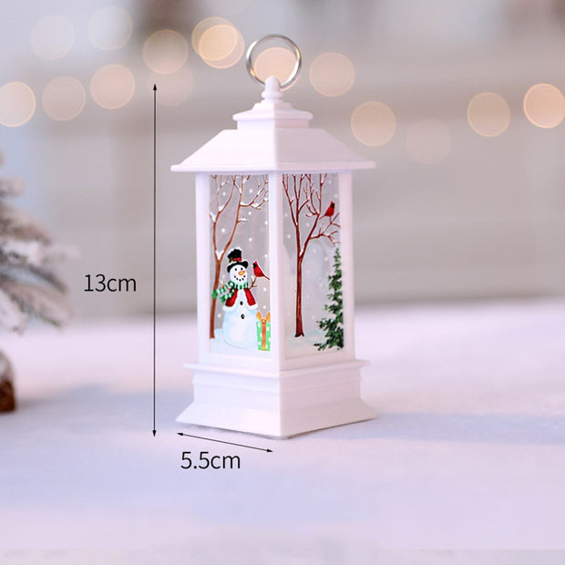 Christmas Color LED Crystal Decoration