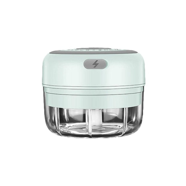 Mini Garlic Chopper, Electric Mincer, Food Dicers, Food Slicer Crusher, Wireless, Rechargeable & Portable for Garlic