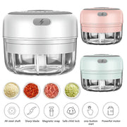 Easy to use Electric Mini Garlic Chopper