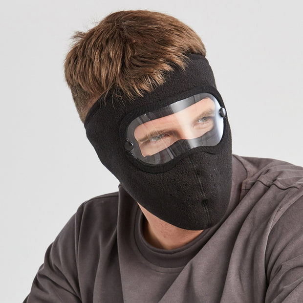 Anti-Fog Winter Mask Black for Men