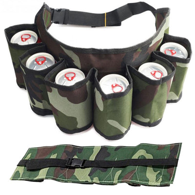 Outdoor 6 Pack Holster Portable bag