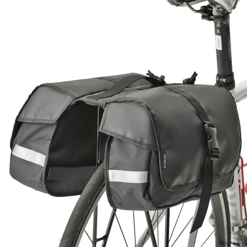 RC-1000 One Day Pannier Bag and Slim Bicycle Rack Combo