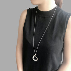 Figure 8 Sterling Silver Long Necklace