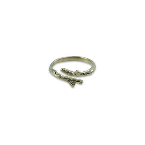 Little branch Gold Sterling Sliver Ring