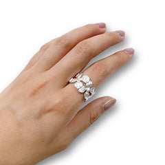 Lunaria Sterling Silver Ring