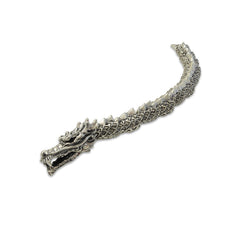 Big Dragon Sterling Silver Bracelet (23cm)