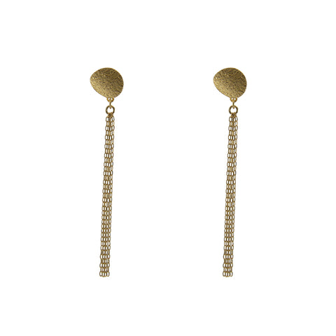 18K real 1.07g Gold Earrings