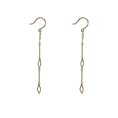 10K real Gold 0.48g Earrings
